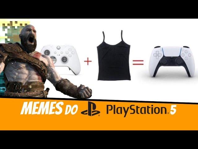 Playstation 5 - Sobre o design do PS5 e seus memes na internet